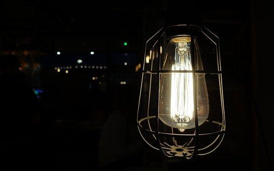 Light, Lamp, Bulb, Filament, Incandescent, Electric