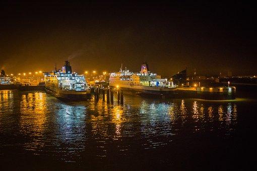 Port, Ferry, England, France