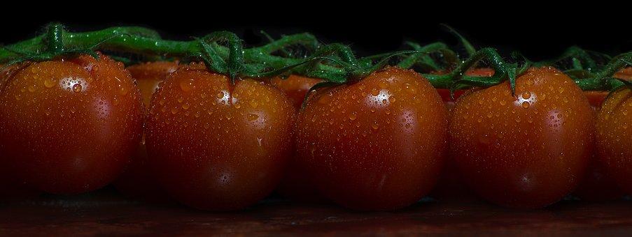 Tomatoes, Vegetables, Food, Red, Healthy, Vegetarian