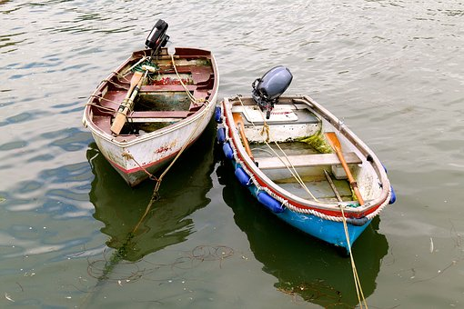 Boat, Boats, Sea, Water, Marine, Blue, Lake