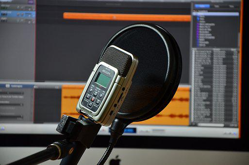 Microphone, Audio, Recording, Micro, Music, Sound