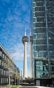 Architecture, Modern, Building, Skyscraper, Glass, Home