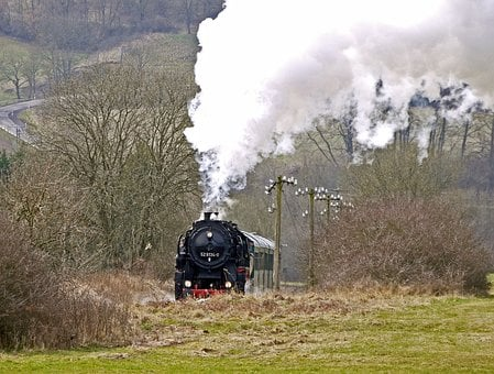 Steam Train, Steam Locomotive, Special Crossing