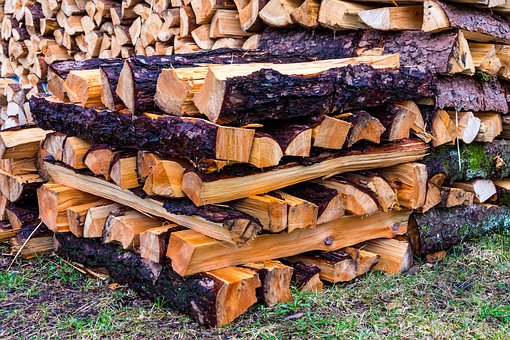 Wood, Split Wood, Wood For The Fireplace, Timber