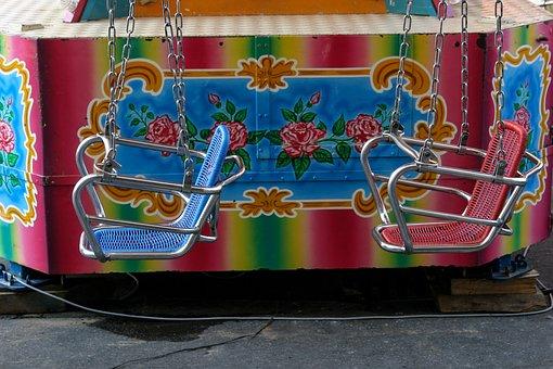 Kettenkarussel, Year Market, Fair, Carousel