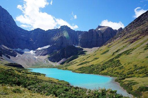 America, Usa, Montana, Glacier, National, Park, Cracker