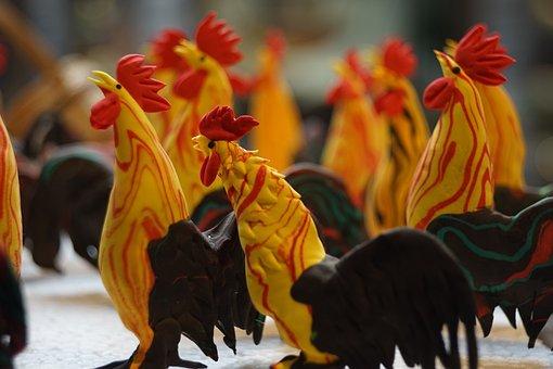 China Lane, Chengdu, Figurines
