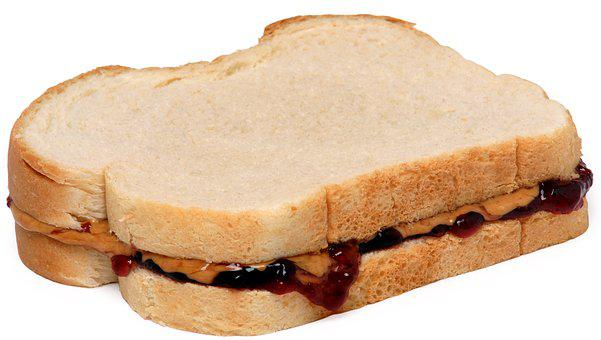 Food, Eat, Diet, Peanut, Butter, Jelly, Sandwich