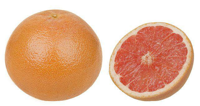 Fruits, Healthy, Vitamins, Eat, Diet, Grapefruit, Whole