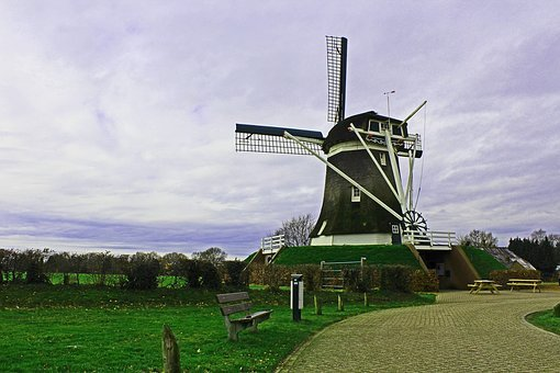 Windmill, Wind Power, De Hoop, Elspeet