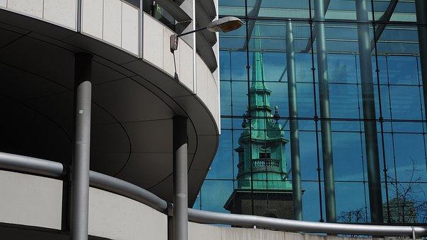 Church, Spire, Steeple, Building, Architecture, London