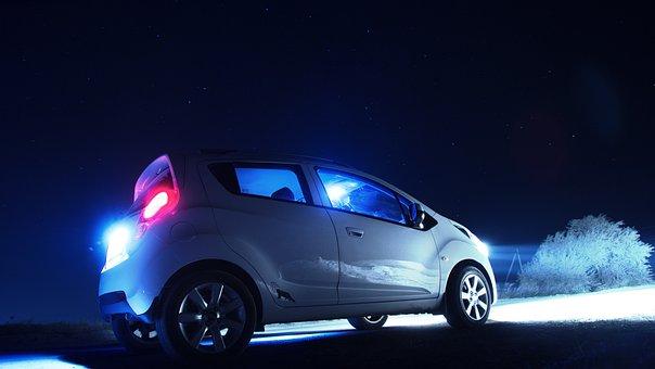 Chevrolet Spark, Buy, Price, Moscow, Auto, Night