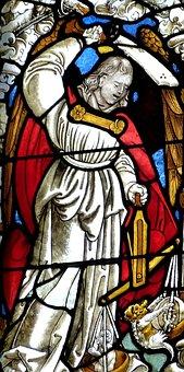 Church, Judgment, Christian, Window, Church Window