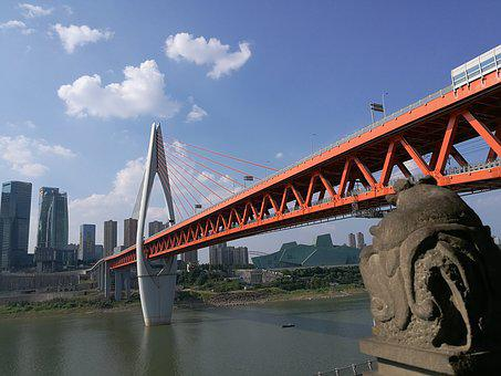 One Thousand Servant Gate Bridge, The Yangtze River