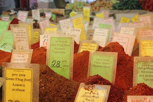 Bazaar, Paprika, Spice, Market, Traditional, Spicy