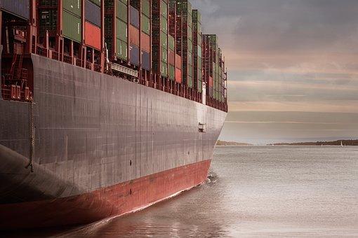 Container, Container Ship, Port, Logistics