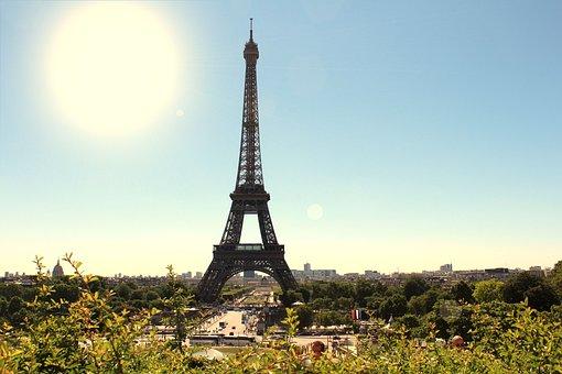 Torre, Landscape, France, Paris, Tour Eiffel, Monuments