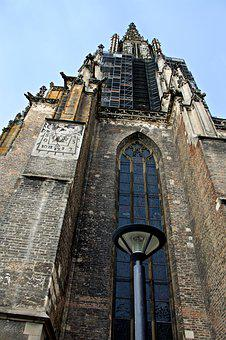 Architecture, Gothic, Ulm, Ulm Cathedral, Site
