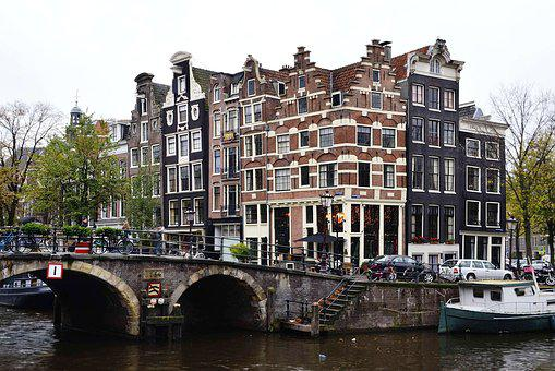 Amsterdam, Holland, Architecture, Buildings