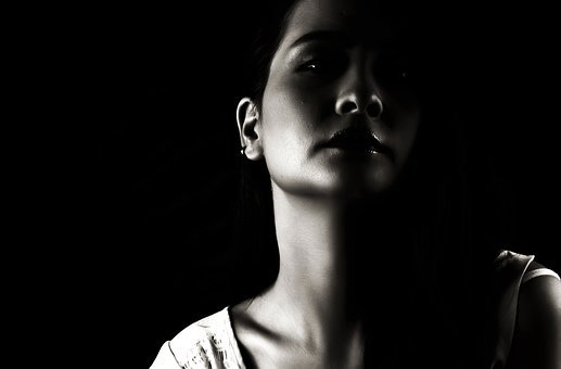 Girl, Portrait, Black And White, Attractive, Sensuality