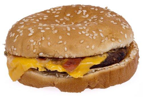 Hamburger, Burger, Fast Food, Unhealthy, Eat, Lunch