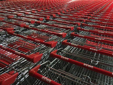 Consumption, Shopping Cart, Shopping, Commercial
