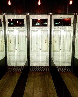Door, Doors, Mirror