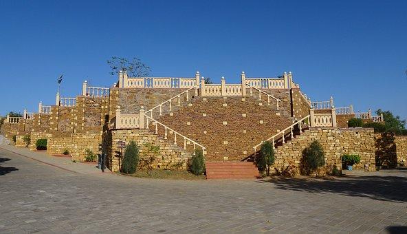 Pavilion, Raised, Terrace, Outdoor, Architecture