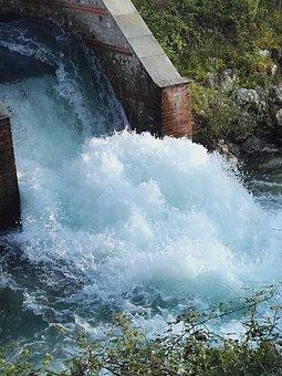 Water, Stream, Roar