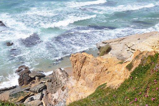 Ericeira, Mar, Water, Rocks, Salt Water, Ocean