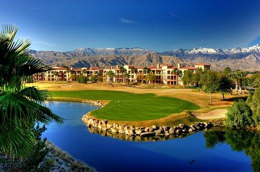 Golf, Resort, Green, Course, Golfing, Sport, Landscape
