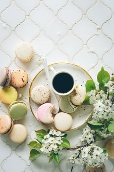 Brunch, Macaroons, Tea, Biscuits, Afternoon Tea, Sweets