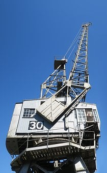 Crane, Industry, Metal, Machine, Automation, Business