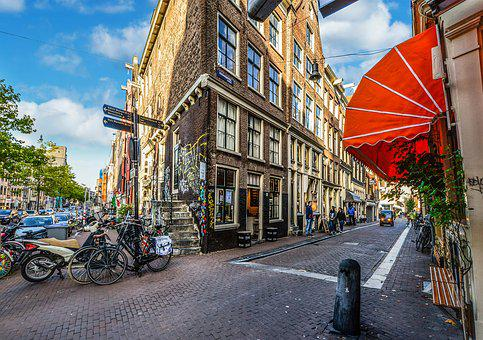 Amsterdam, Netherlands, Holland, City Life, Street