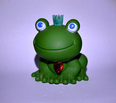 The Frog, The King's Son, Green, Pond, Leaf