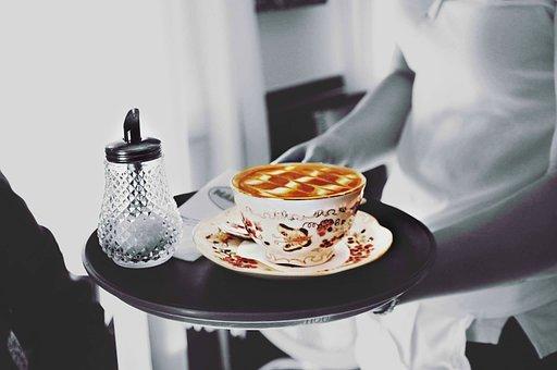 Coffee, Waiter, Service