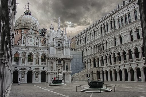 Venice, Italy, Doges Palace, Doge, Palace, Church