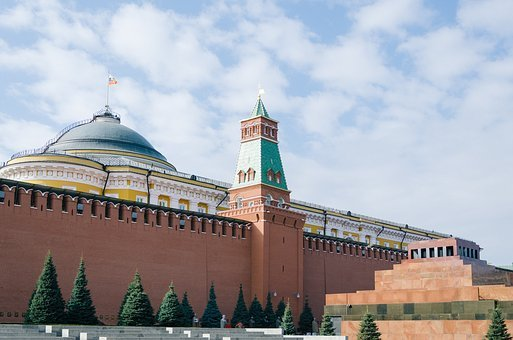 Moscow, The Kremlin, Russia, Architecture, Building