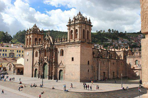 Peru, Cusco, Peruvian, Architecture, Church, Travel
