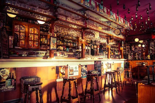 Bar, Pub, Cafe, Establishment, Stools, Counter, Alcohol