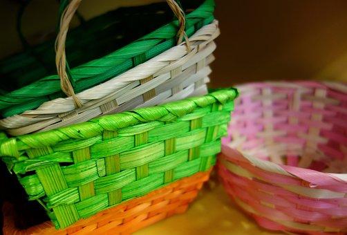 Easter, Easter Baskets, Osterkorb, Basket, Baskets