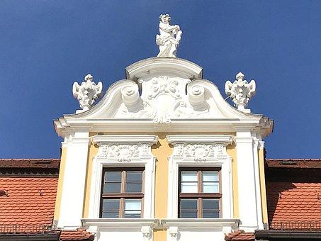 Magdeburg, Landtag, Facade, Historically, Architecture