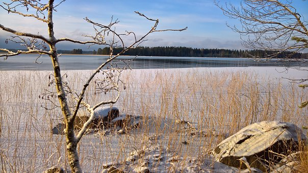 Winter, Beach, Finnish, Cold, Landscape