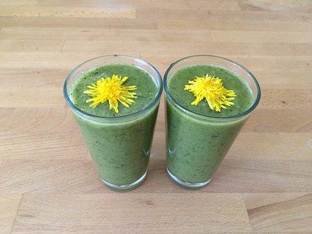 Smoothie, Drink, Healthy, Vitaminhaltig, Green Smoothie