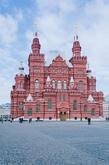 Historical Museum, Moscow, Red Square, Museum, History
