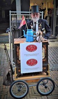 Denmark, Hurdy-gurdy Player, Danish Original