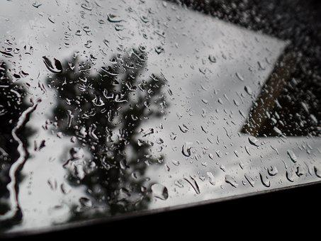Rain, Window, Details