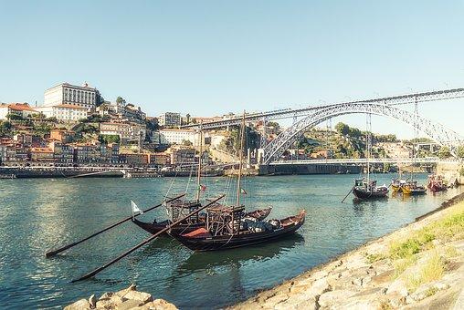 Porto, Portugal, River Douro, Historic City, Ribeira
