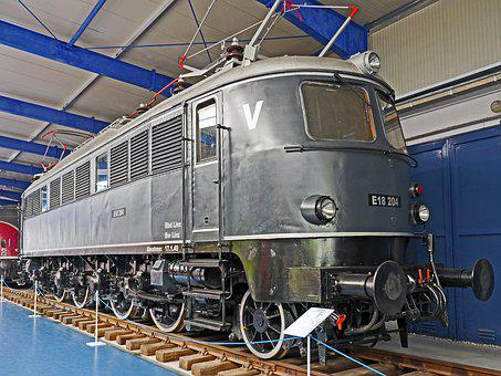 Electric Locomotive, Museum, Prora, Rügen