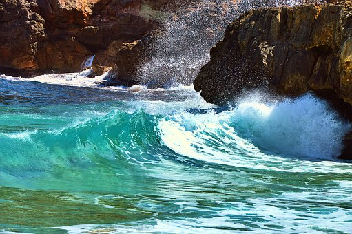 Water, Wave, Surf, Sea